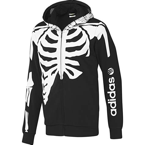Hoodie Alto Merch cal 231 a chiffon crotch cuf skulls skeletons and a skull