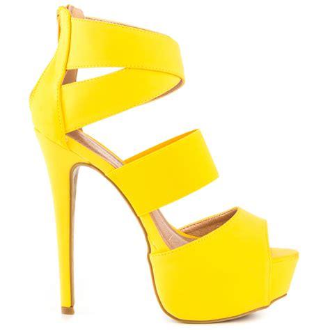 yellow high heels shoes high heels yellow is heel