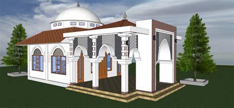 contoh desain gapura masjid kubah masjid modern desain masjid desain kubah masjid