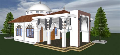 foto desain masjid desain kubah minimalis modern info bisnis properti