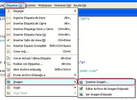 imagenes html insertar c 243 mo insertar una imagen en una p 225 gina web