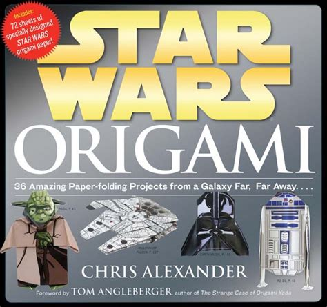 Origami R2d2 Book - wars origami step by step book with 36 paper folding