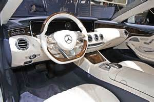 Mercedes E Class Cabriolet Interior Mercedes Classe S Coupe Et Cabriolet Page 17 Auto Titre