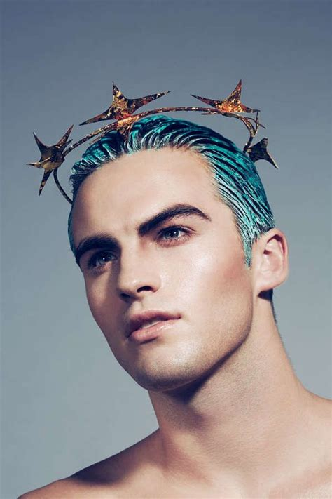 boys hair crown 91 best images about dyed hair boys with colored hair on