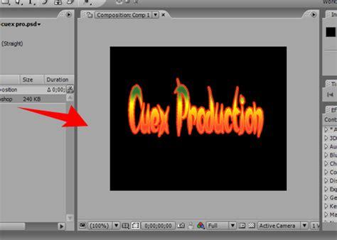 tutorial after effect cs3 membuat bumper tutorial pembuatan bumper in menggunakan adobe after efect