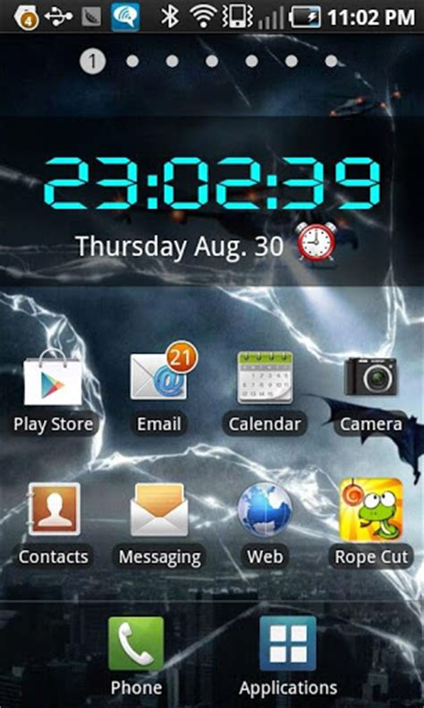 best widget apk led digital clock widget apk for android
