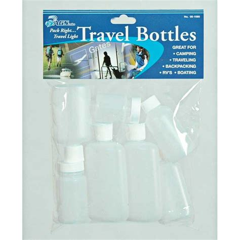 Tulipware Travel Set Mt New travel bottle set mt nittany outfitters