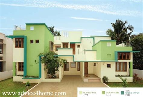 ushed huf 7771 of lime 7711 green 7527 home exteriors color from asian paints