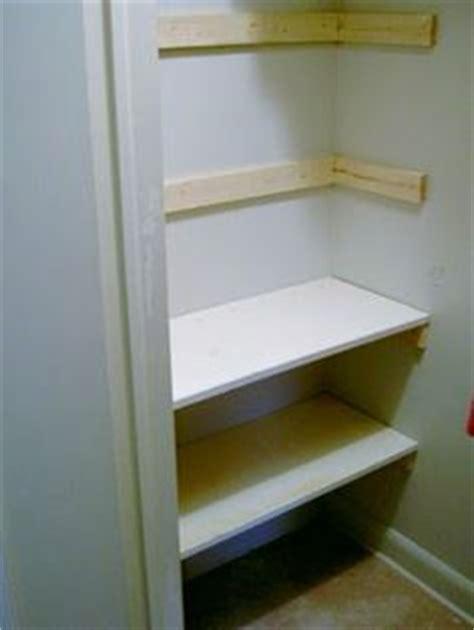 Simple Closet Shelves by Build Simple Closet Shelves Woodworking Projects Plans