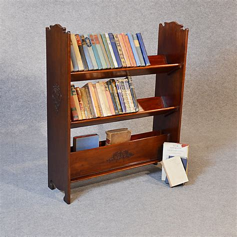 bookcase book magazine rack library shelves antiques atlas
