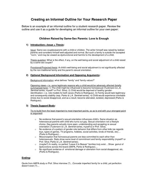 Informal Outline Meaning by An Informal Essay Spm Essay Speech Essay Sle Exle Essay Exle Of A