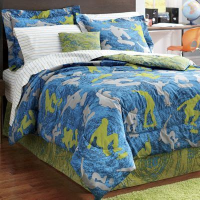 skateboard comforter skateboard complete bed set and accessories from ginny s