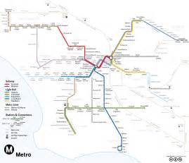 La Metro System Map by Subwaymaps Los Angeles 2020 Since My Last Map