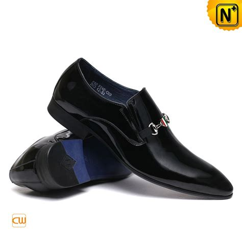 black patent leather dress shoes for cw762022