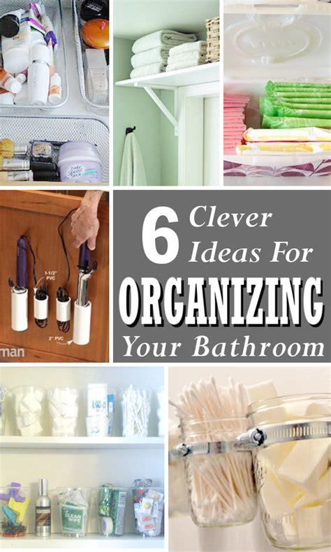 organizing tips for bathroom diy home sweet home organizing tips for the bathroom