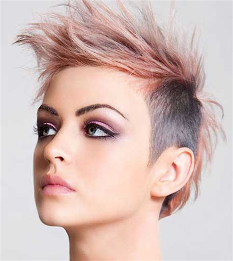 very short punk asymmetrical hairstyles for women on pinterest best short punk haircuts short hairstyles 2017 2018