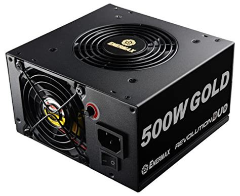 Enermax Revolution Duo 80 Gold 500w Erd500awl F enermax revolution duo 700w duoflow design 80 gold certified power supply ideal for psu shrouds