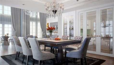 Fancy Dining Room by Tuananh Eke S Classically Styled Formal Dining With