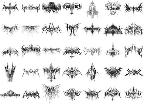 tattoo unreadable fonts den of metal fonts how do they