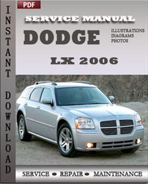 service manual download car manuals pdf free 2006 chrysler crossfire roadster security system dodge lx 2006 service manual pdf download servicerepairmanualdownload com