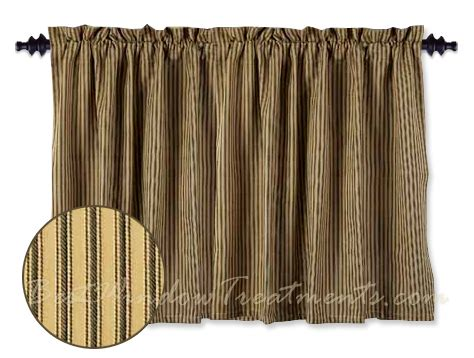 Black Tier Curtains York Ticking Black Tier Curtains Bestwindowtreatments