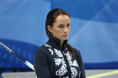 hot female olympic curlers russian curler anna sidorova will make you want to watch