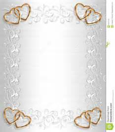 border stationaray background border or frame with gold hearts and copy space