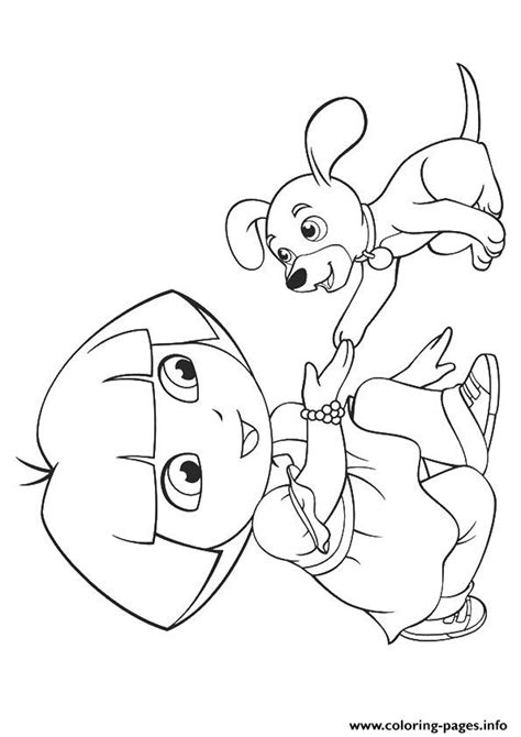dora puppy coloring page puppy face coloring top dog pages page in grig3 org