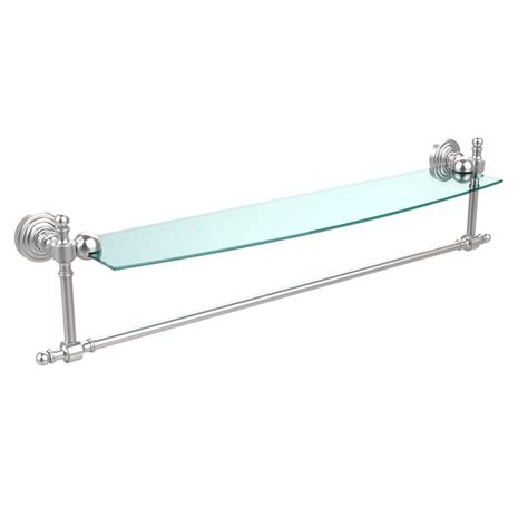 Rw Plumbing And Heating by Allied Brass Retro Wave Collection 24 In Glass Vanity