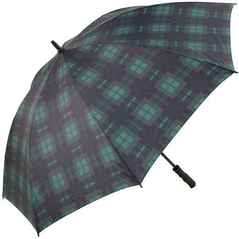 Tartan Navy Green tartan golf umbrellas green navy as blackwatch