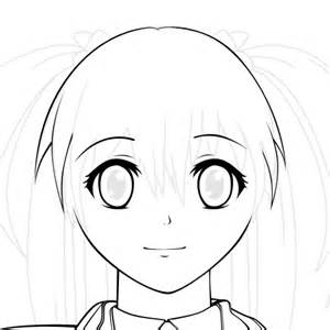 Anime Character Template by Creating A Vector Anime Character In Adobe Photoshop