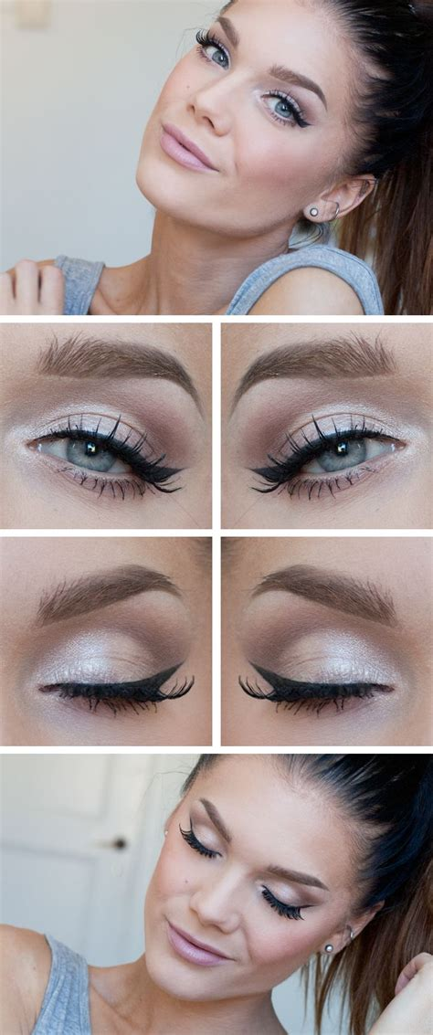 Eyeshadow Daily simple yet stylish light makeup ideas to try for daily occasions pretty designs