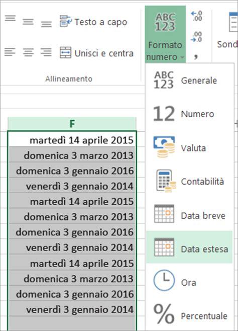 date testo convertire le date formattate come testo in date excel