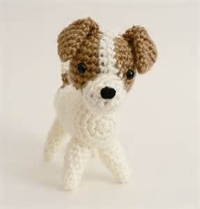amidogs jack russell terrier amigurumi dog pdf crochet pattern planetjune patterns on artfire