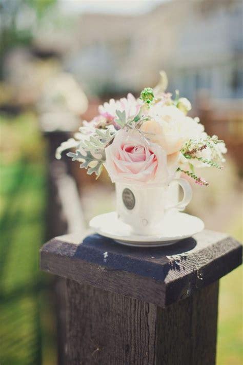 teacup flower vases printemps