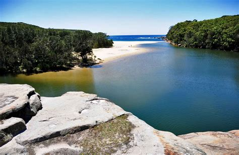 itinerary the coast track nsw national parks