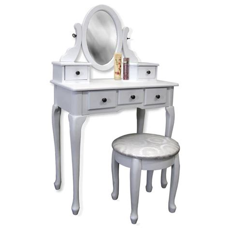 white makeup vanity table set w bench white vanity table set jewelry armoire makeup desk bench