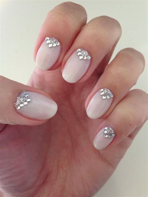 15 best Shellac Bridal Nails   Shellac Wedding Nails