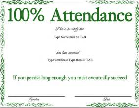 certificate of attendance template search results