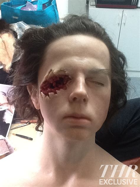 Ripped Merk Four Season 2 walking dead how carl lost his eye reporter