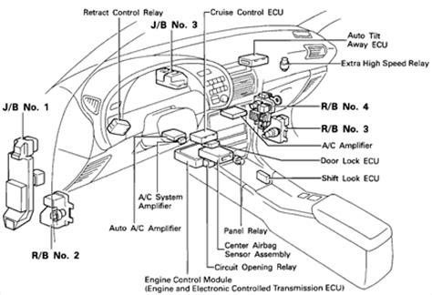 fuse diagram 1995 toyota celica fixya