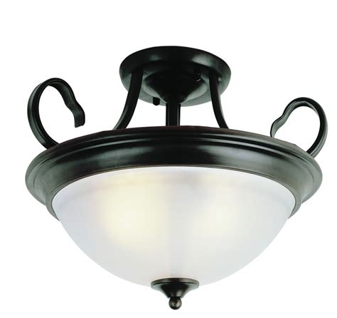 trans globe lighting bishop black ceiling fixture