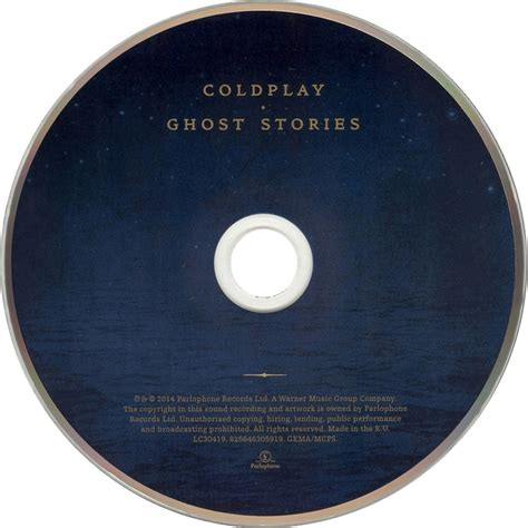 coldplay record label car 225 tula cd de coldplay ghost stories portada