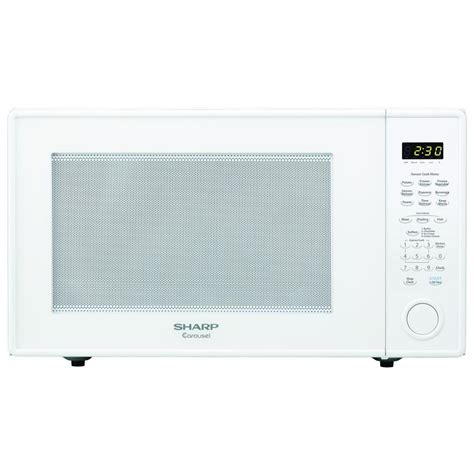 Microwave Sharp 399 Watt sharp carousel 2 2 cu ft 1200 watt countertop microwave