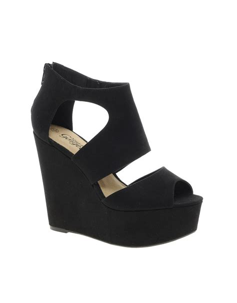 new look shoes for new look new look width platform wedge shoes at asos