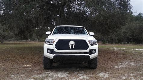 Custom Toyota Tacoma Custom Mesh Grills For 2016 Toyota Tacomas By