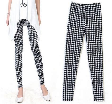 white patterned leggings black and white patterned leggings baggage clothing