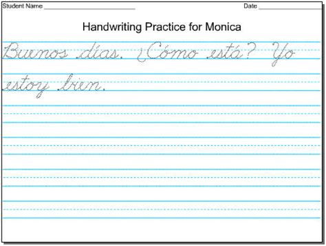 Create Your Own Cursive Worksheet by Ideas About Handwriting Worksheets For Kindergarten Free