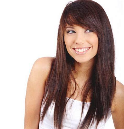 hair style with bang with long back косая челка с длинными волосами как укладывать косую челку