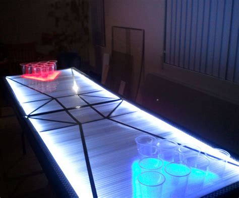 Led Pong Table led pong table dudeiwantthat